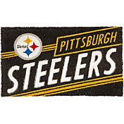 Evergreen Pittsburgh Steelers Coir Punch Mat