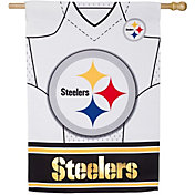 Evergreen Pittsburgh Steelers Jersey House Flag