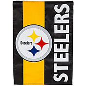 Evergreen Pittsburgh Steelers Embellish Garden Flag