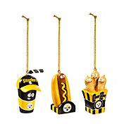 Evergreen Enterprises Pittsburgh Steelers Snack Pack Ornament