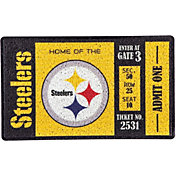 Evergreen Pittsburgh Steelers Turf Mat