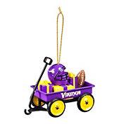 Evergreen Enterprises Minnesota Vikings Team Wagon Ornament