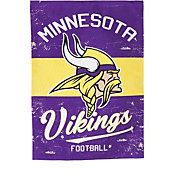 Evergreen Minnesota Vikings Vintage Garden Flag