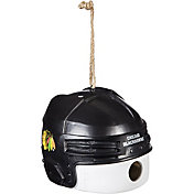 Evergreen Chicago Blackhawks Helmet Birdhouse