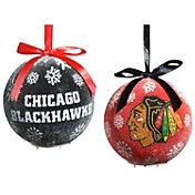 Evergreen Enterprises Chicago Blackhawks LED Ornament Set