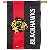 Evergreen Chicago Blackhawks Embellish House Flag