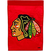 Evergreen Chicago Blackhawks Applique Garden Flag