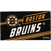 Evergreen Boston Bruins Coir Punch Mat