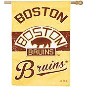 Evergreen Boston Bruins Vintage House Flag