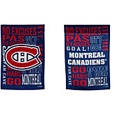 Evergreen Montreal Canadiens Fan Rule Garden Flag