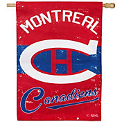 Evergreen Montreal Canadiens Vintage House Flag