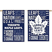 Evergreen Toronto Maple Leafs Fan Rule House Flag