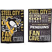 Evergreen Pittsburgh Penguins Fan Rule Garden Flag