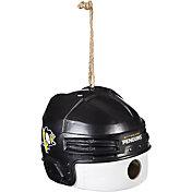 Evergreen Pittsburgh Penguins Helmet Birdhouse