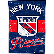 Evergreen New York Rangers Vintage Garden Flag