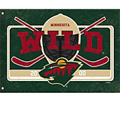 Evergreen Minnesota Wild Linen Estate Flag