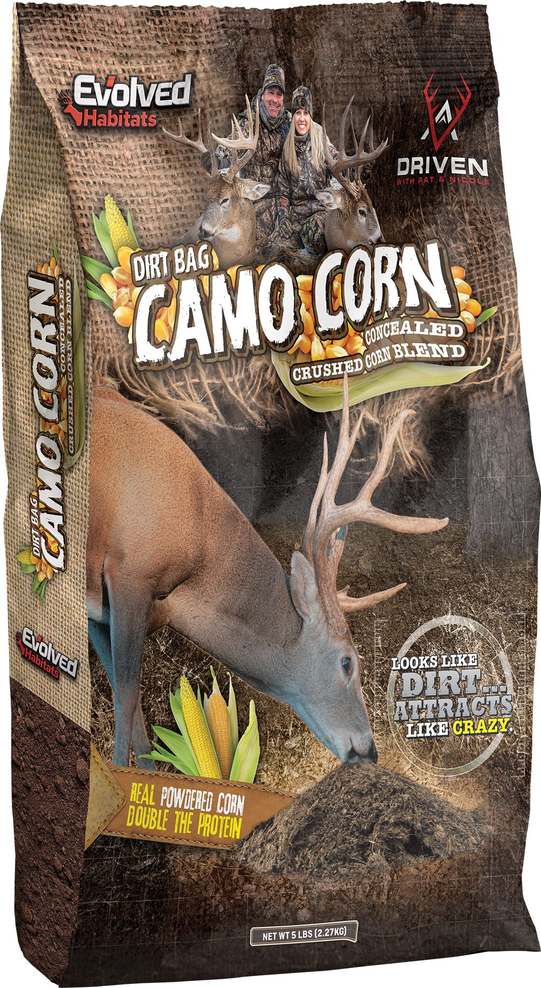 Evolved Habitats Dirt Bag Camo Corn Attractant