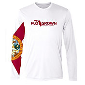 Flogrown Men's Flag Sleeve Performance Long Sleeve T-Shirt