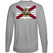 Flogrown Men's Florida Flag Long Sleeve T-Shirt