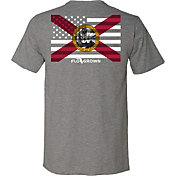 Flogrown Men's US FL Flag T-Shirt