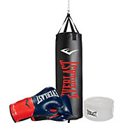 Everlast 3-Piece Heavy Bag, Gloves, and Hand Wrap Boxing Bundle