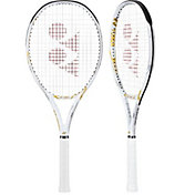 Yonex Limited Edition Ezone 100L White and Gold Tennis Racquet