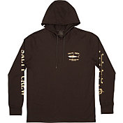 Salty Crew Men's Bruce Hood Tech Long Sleeve T-Shirt