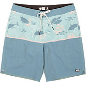 Salty Crew Men's Feeding Frenzy Board Shorts