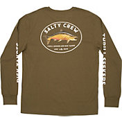 Salty Crew Men's King Sal Tech Long Sleeve T-Shirt