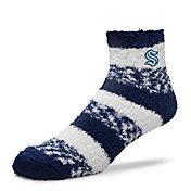 For Bare Feet Seattle Kraken Navy Pro Stripe Socks