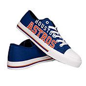 FOCO Houston Astros Canvas Shoes