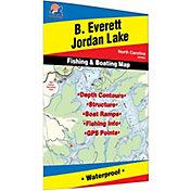 Fishing Hot Spots B. Everett Jordon Lake Fishing Map