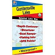 Fishing Hot Spots Guntersville Lake Fishing Map