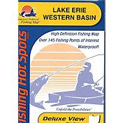 Fishing Hot Spots Lake Erie Fishing Map/Lake-Western Basin Fishing Map