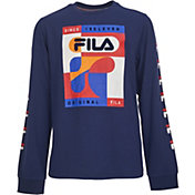 FILA Boys' Will Long Sleeve T-Shirt