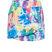 Fila Girls' Tie Dye Tiered Tennis Skort