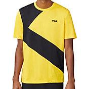 FILA Men's Break Point Slash Crew T-Shirt