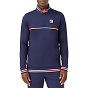FILA Men's Heritage Tennis 1/4 Zip