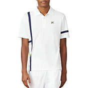 Fila Men's PLR Singles Tennis Polo