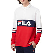 FILA Men's Syd Long Sleeve Polo