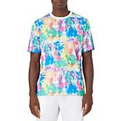 FILA Men's Top Spin Tie Dye Crew T-Shirt