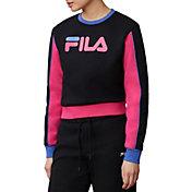 FILA Women's Nuria Colorblock Sweatshirt