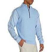 FootJoy Men's Tonal Heather ½ Zip Golf Pullover
