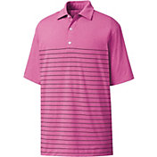 FootJoy Men's Heather Lisle Engineered Pinstripe Golf Polo