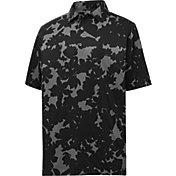 FootJoy Men's Lisle Camo Floral Print Short Sleeve Golf Polo
