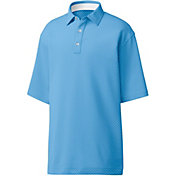 FootJoy Men's Stretch Lisle Dot Print Golf Polo