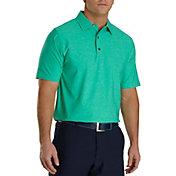 FootJoy Men's Lisle Golf Polo - Heather