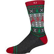 FootJoy Men's Holiday Crew Golf Socks