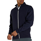 FootJoy Men's Ribbed Fleece Full-Zip Golf Jacket