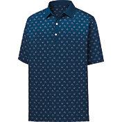FootJoy Men's Lisle Weather Print Short Sleeve Golf Polo